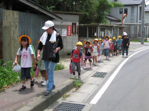 防犯散歩ボランティア