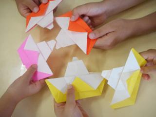 🌊折り紙で海の世界🚤