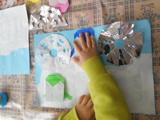 雪の結晶✨製作