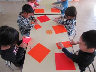てんとう虫🐞作ったよっ💕(折り紙製作)