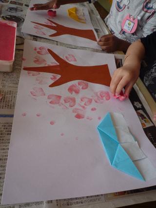 桜咲く~🌸製作
