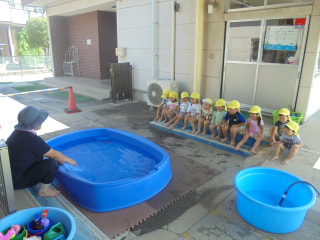 楽しいプール遊び🎵